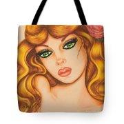 Flower Girl 2 Tote Bag