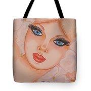 Flower Girl 5 Tote Bag