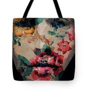 Flower Girl Tote Bag
