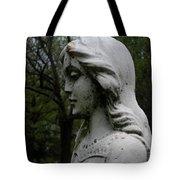 Flower Girl Profile Tote Bag