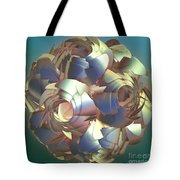 Flower Globe Tote Bag