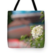 Flower Grow Tote Bag
