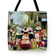 Flower Hmong Women 02 Tote Bag
