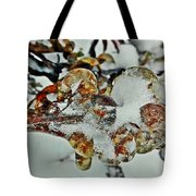Flower Icicle. Tote Bag