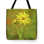 Flower Impression Tote Bag by Sharon Seaward