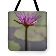Flower In A Pond Tote Bag