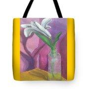Flower In A Vase. Tote Bag