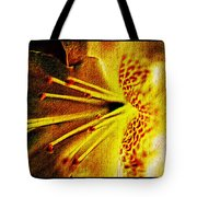 Flower In Abstraction Art Tote Bag