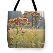 Flower In Focus Tote Bag