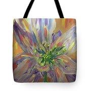 Flower In Morning Light Tote Bag