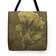 Flower In Sepia Tote Bag