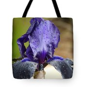 Flower In The Rain At Chelsea Tote Bag