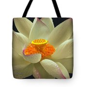 Flower In The Rain Tote Bag