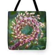 Flower In The Round Tote Bag