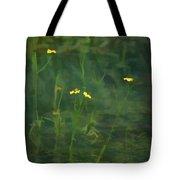 Flower In The Stream - Digital Art Tote Bag