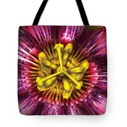 Flower - Intense Passion  Tote Bag by Mike Savad