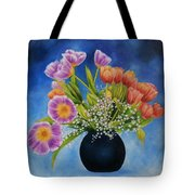 Flower Still Life Tote Bag