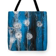 Flower Lineup Tote Bag