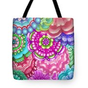 Flower Magic Tote Bag