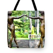 Flower Maidens Tote Bag