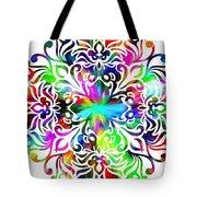 Flower Mandala 4 Tote Bag