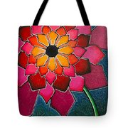 Flower Mandala-a Tote Bag