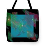 Flower Mirrors Tote Bag