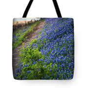 Flower Mound Tote Bag by Inge Johnsson