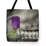 Flower Of Ice Tote Bag