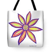 Flower Of Joy Tote Bag