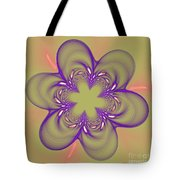 Flower Of Pink - Purple Tote Bag