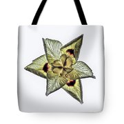 Flower Of Triangles Tote Bag