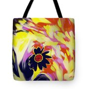 Flower On The Beach Tote Bag