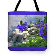 Flower Overboard Tote Bag