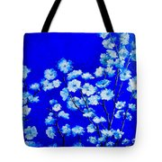 Flower Painting - Plum Blossom Tote Bag