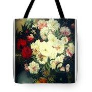 Flower Painting  Tote Bag