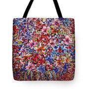 Flower Passion Tote Bag