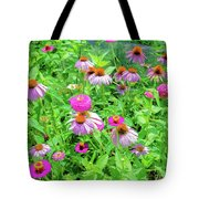 Flower Patch Tote Bag