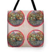 Flower Photo Globes Tote Bag