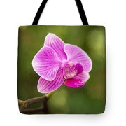 Flower - Pink Orchids Tote Bag