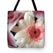 Flower Pink-white Tote Bag