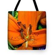 Flower Pistil Tote Bag