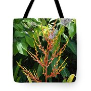 Flower Plants Tote Bag