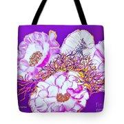 Flower Portrait Painting Tote Bag