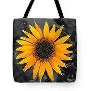 Flower Portrait Watercolor Tote Bag