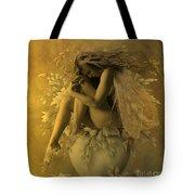 Flower Pot Fairy Tote Bag