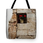 Flower Pot In Niche Tote Bag