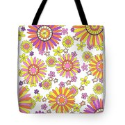 Flower Power 1 Tote Bag