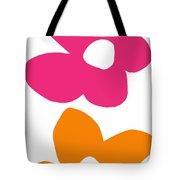 Flower Power 4- Art By Linda Woods Tote Bag