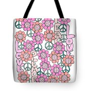 Flower Power 8 Tote Bag